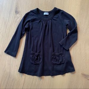 Splendid Black Pocket Tunic